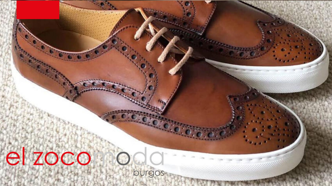 zapatos snakers, españoles